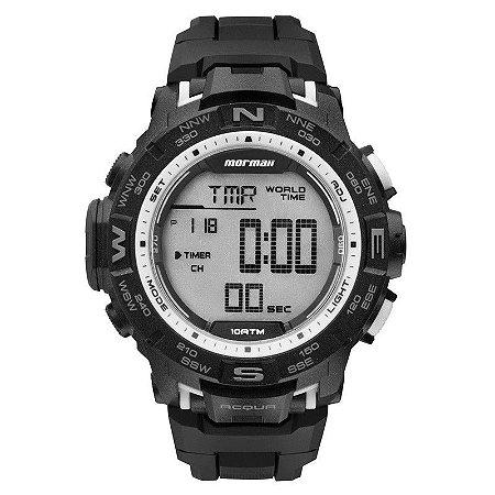 Relógio Mormaii Digital Masculino Action MO1173D/8K