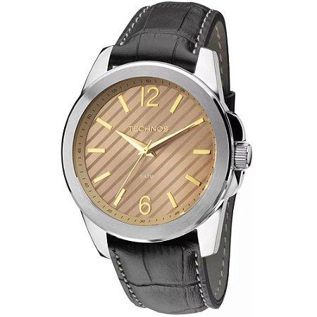 Relógio Technos Classic Steel Analógico Masculino 2035MEY/0M