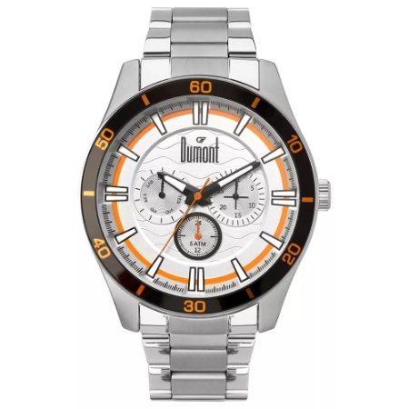 Relógio Dumont Garbo Multifunção Masculino DU6P29ACC/3K