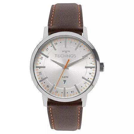 Relógio Technos Classic Steel Analógico Masculino 2115MMH/1B