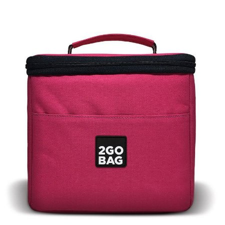 Bolsa Térmica 2goBag 4All Fun MID 4 a 8 Refeições   Pink
