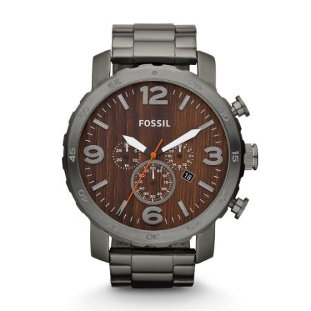 Relógio Fóssil Cronógrafo Masculino Nate FJR1355/Z