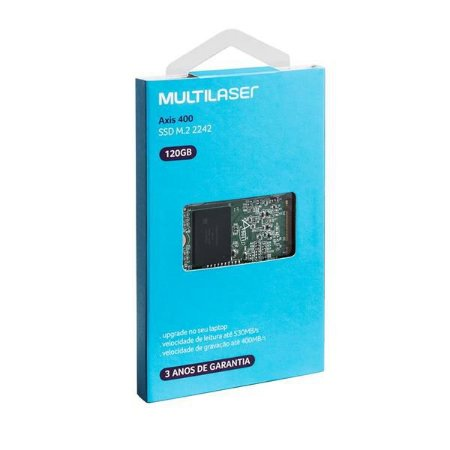 SSD Multilaser Axis 500 120GB M.2 2242 - SS104