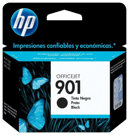 CARTUCHO HP CC653AB PRETO (901) 4.5 ML