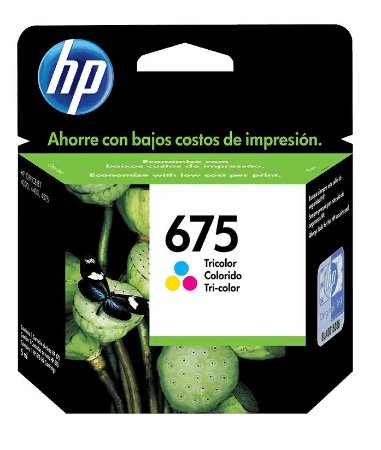CARTUCHO HP CN691AL COLOR (675)