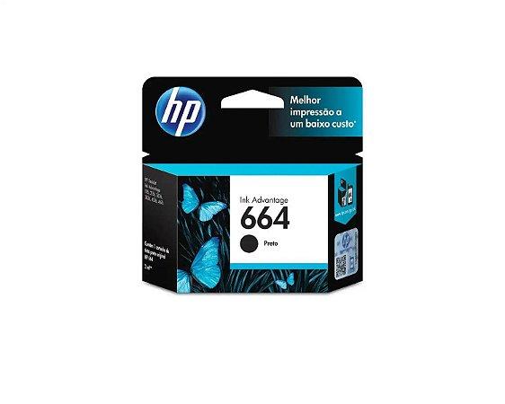 CARTUCHO HP F6V29AB PRETO (664) 2ML