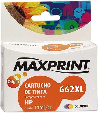 CARTUCHO MAXPRINT PARA HP COLOR CZ106A (662XL) 6112508