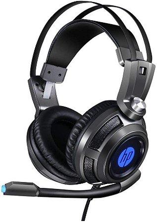 FONE DE OUVIDO HEADSET 2 P2/USB LED HP H200 GRAFITE