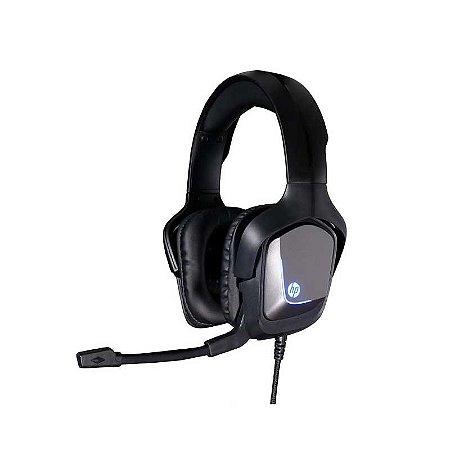FONE DE OUVIDO HEADSET 2 P2/USB LED HP H220 PRETO