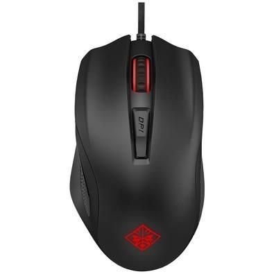 MOUSE GAMER HP OMEN 600 12000DPI PRETO