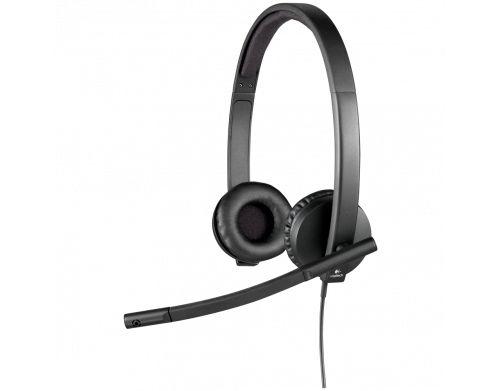 FONE DE OUVIDO COM MICROFONE LOGITECH USB H570E HEADSET
