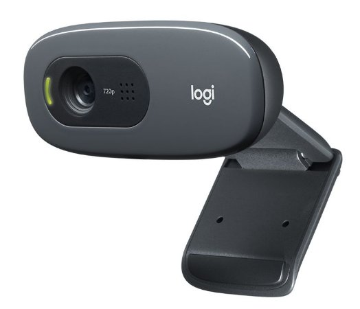 WEBCAM LOGITECH HD 720P 3MP COM MICROFONE C270