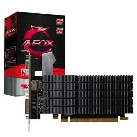 PLACA DE VÍDEO AMD AFOX RADEON R5 220 1GB DDR3 64 BITS