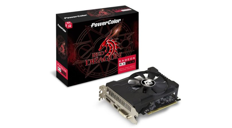 PLACA DE VÍDEO POWER COLOR RADEON RX550 4GB DDR5 128BITS