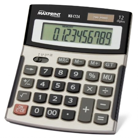 CALCULADORA MAXPRINT MESA MX-C124 754632