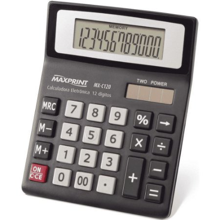 CALCULADORA MAXPRINT MX-C120 754594