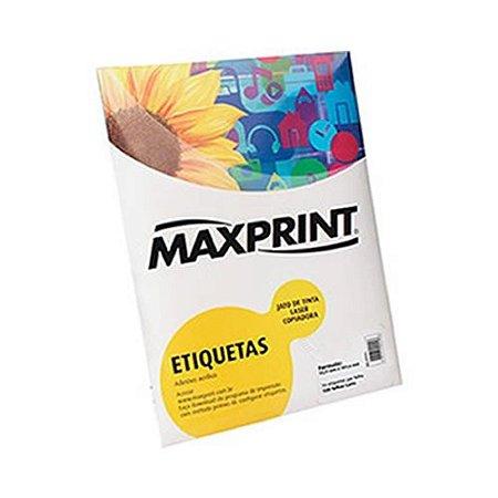 ETIQUETA INK/LASER MAXPRINT A4249 26X15 25 FLS 494360