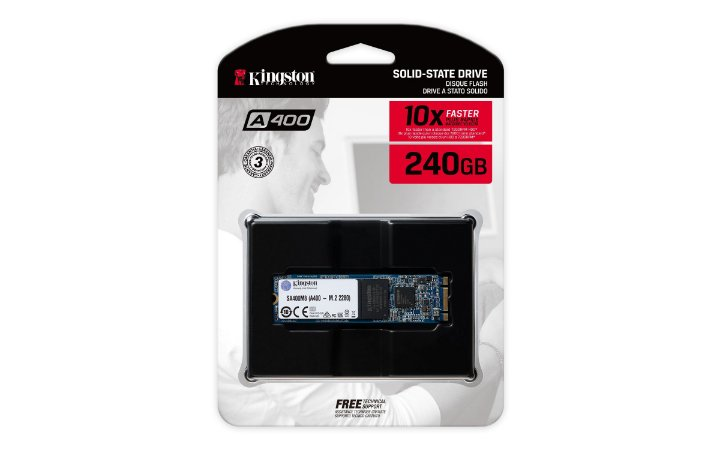 SSD 240GB M.2 KINGSTON A400 SA400M8/240G