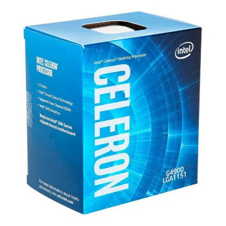 PROCESSADOR INTEL CELERON G4900 3.1GHZ 2MB LGA1151