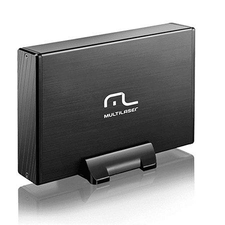 "CASE PARA HD MULTILASER GA118 3.5"" USB 2.0"