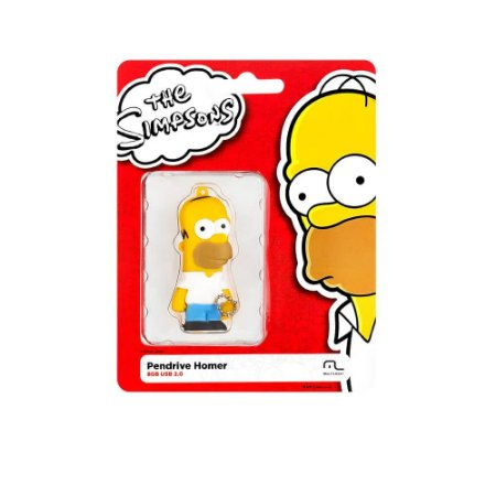 PEN DRIVE 8GB MULTILASER HOMER SIMPSONS PD070