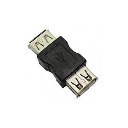 ADAPTADOR/EMENDA USB A/FEMEA X USB A/FEMEA