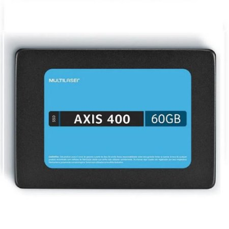 SSD 60GB SATA MULTILASER AXIS 400 SS060BU