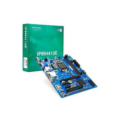 PLACA-MÃE PCWARE IPMH410E LGA1200 DDR4 10ª GERAÇÃO INTEL VGA/HDMI/M.2