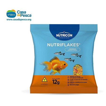 RAÇÃO NUTRICON NUTRIFLAKES 12 G