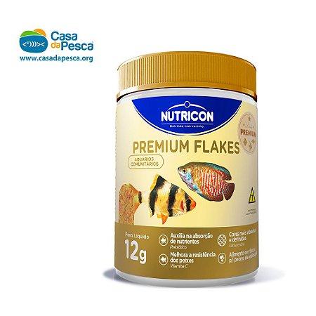 RAÇÃO NUTRICON PREMIUM FLAKES 12 G