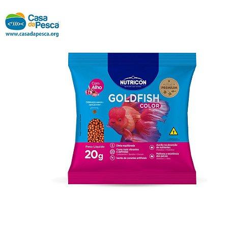 RAÇÃO NUTRICON GOLDFISH COLOR SACHE 20 G