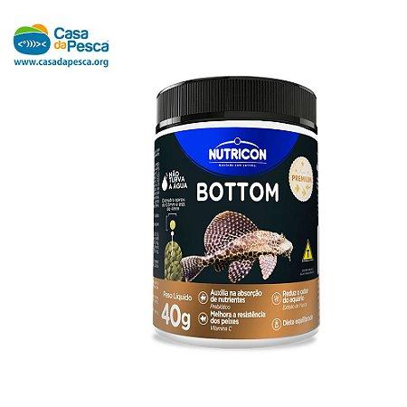 RAÇÃO NUTRICON BOTTOM FISH 40 G