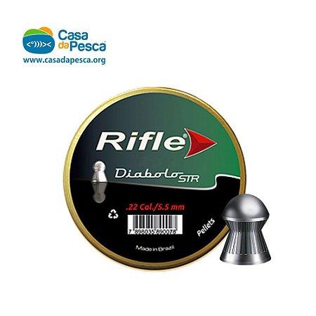 CHUMBINHO RIFLE DIABOLÔ 5.5 MM – C/ 125