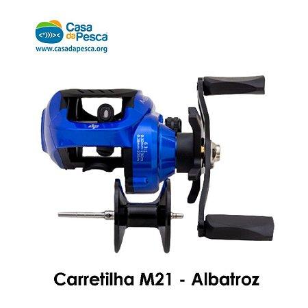 CARRETILHA M21 - AZUL - DIREITA - ALBATROZ