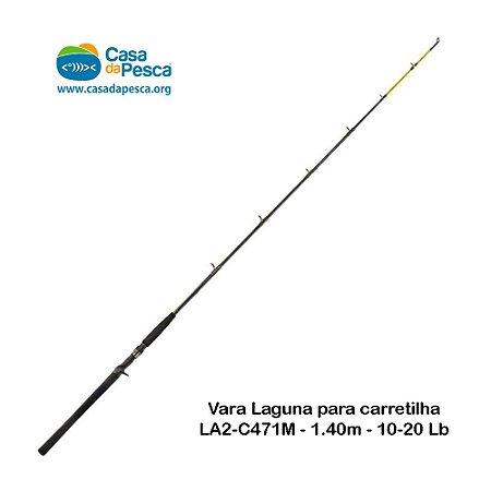 VARA LAGUNA PARA CARRETILHA - LA2-C471M - 1,40M - 10-20LB
