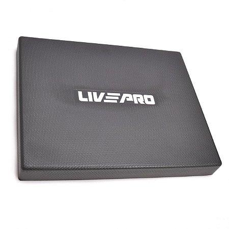 Balance Pad 49cm Preto Liveup Sports