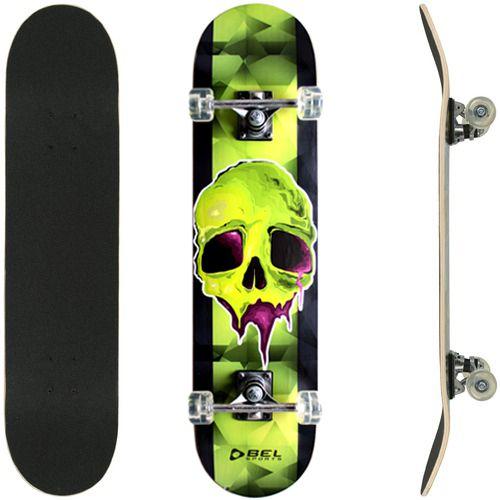 Skate Street Semi Profissional Bel - Caveira