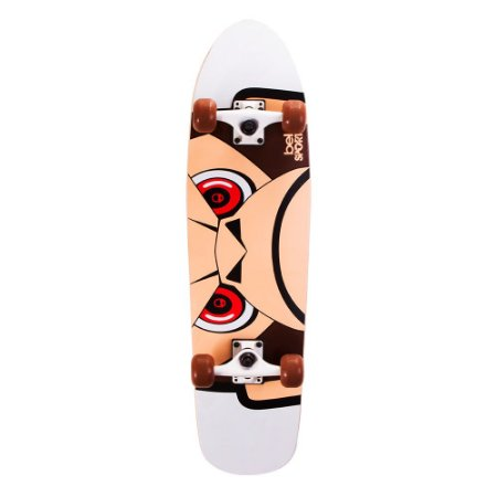 Skate Longboard 82cm Monkey 65x38mm