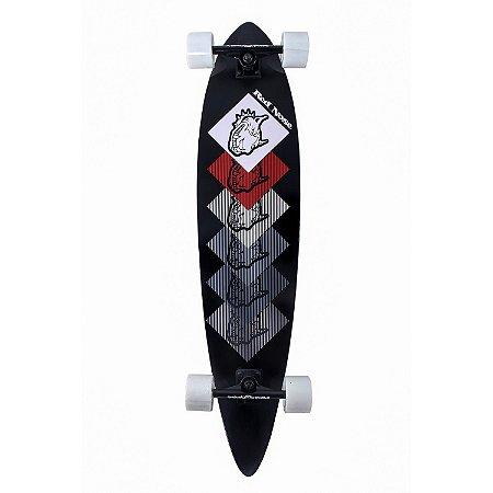 Skate Longboard Red Nose Boxing 106cm