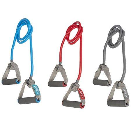 Elástico Extensor Para Ginástica Funcional 1 Via Kit - Forte, Super Forte e Extra Forte