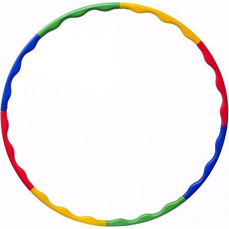 Bambolê de 88cm Desmontável Colorido Liveup Sports