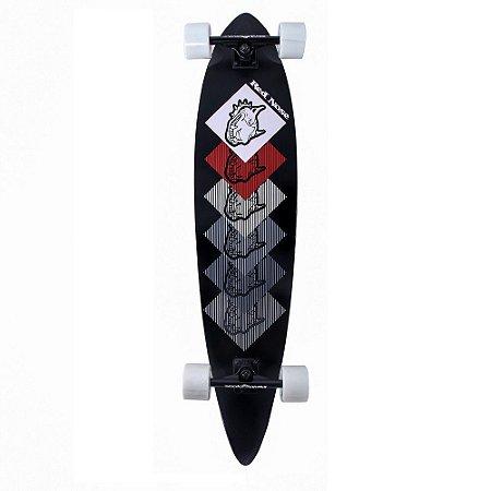 Skate Longboard Red Nose 106cm - Dogs