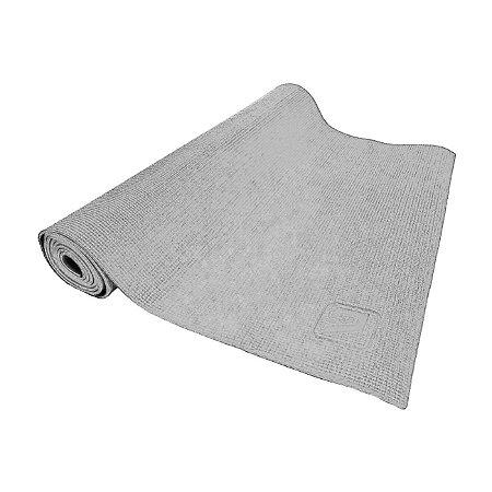 Tapete de Yoga Mat para Exercícios 173cm - Cinza