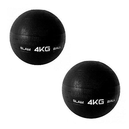 Slam Ball Crossfit Kit 2 Bolas de 4Kg