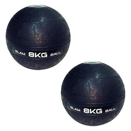 Slam Ball Crossfit Kit 2 Bolas de 8Kg