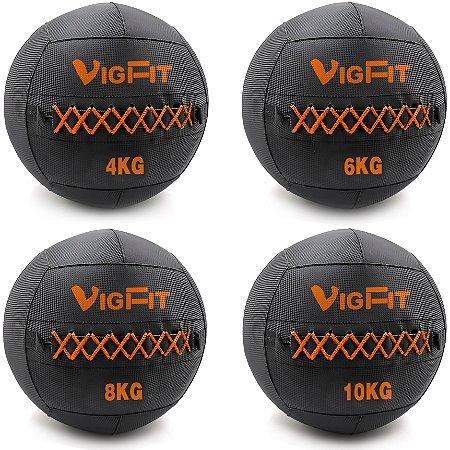 Kit Wall Ball 4Kg 6Kg 8Kg e 10Kg