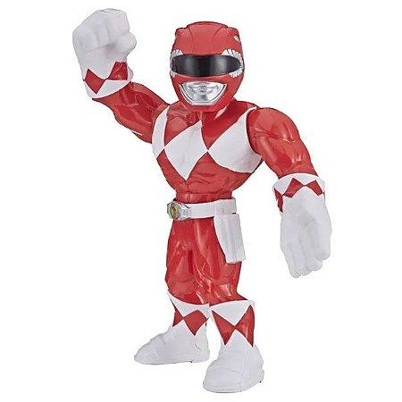 Boneco Power Rangers Vermelho Mega Mighties