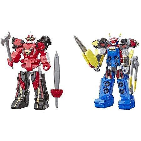 Kit Power Rangers Megazord E Racer Zord Beast Morphers