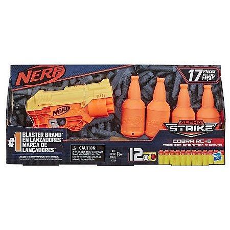 Nerf Alpha Strike Com Alvo Cobra RC-6