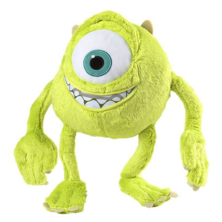 Mike Wazowski Monstros SA Boneco de Pelúcia Disney com Som